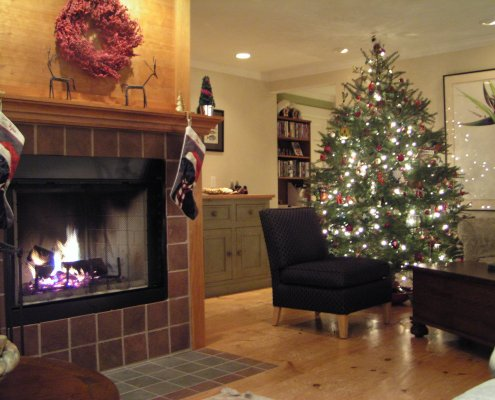 Christmas at Aerie House
